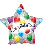 Ballon Congratulations