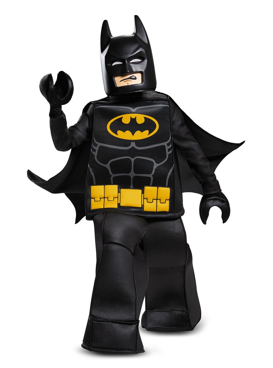 D guisement lego batman prestige enfant la caverne - Deguisement tete de lego ...