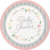 Baby shower florale