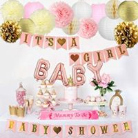 Accessoires baby shower fille