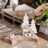 Déco de table Noël
