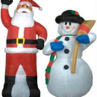 Décorations gonflables de Noël